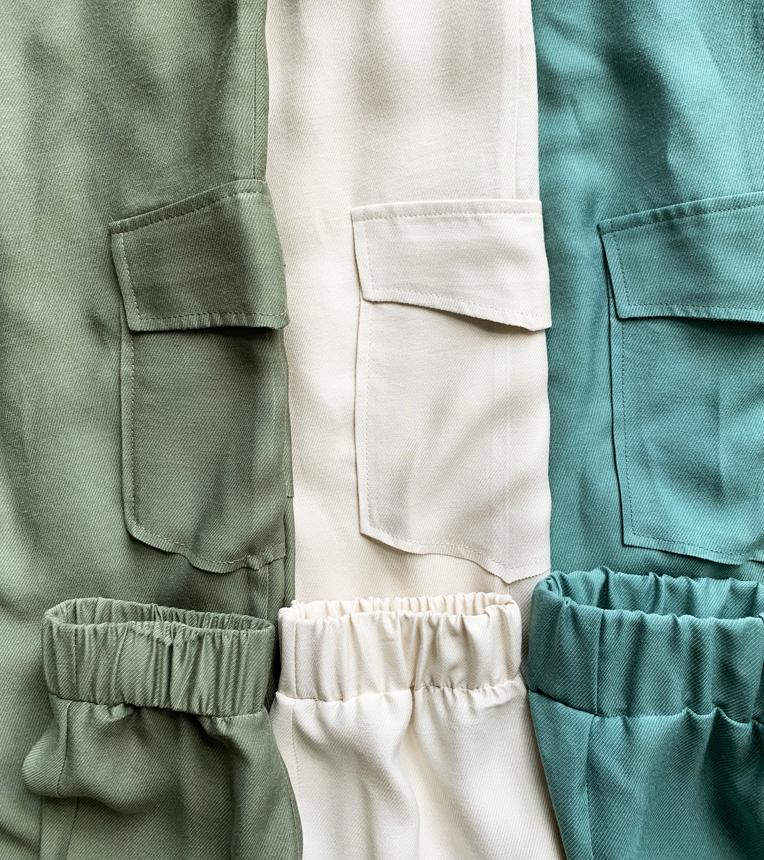 Spodnie Melda Ecru