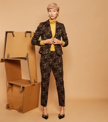 Spodnie Flora Brown